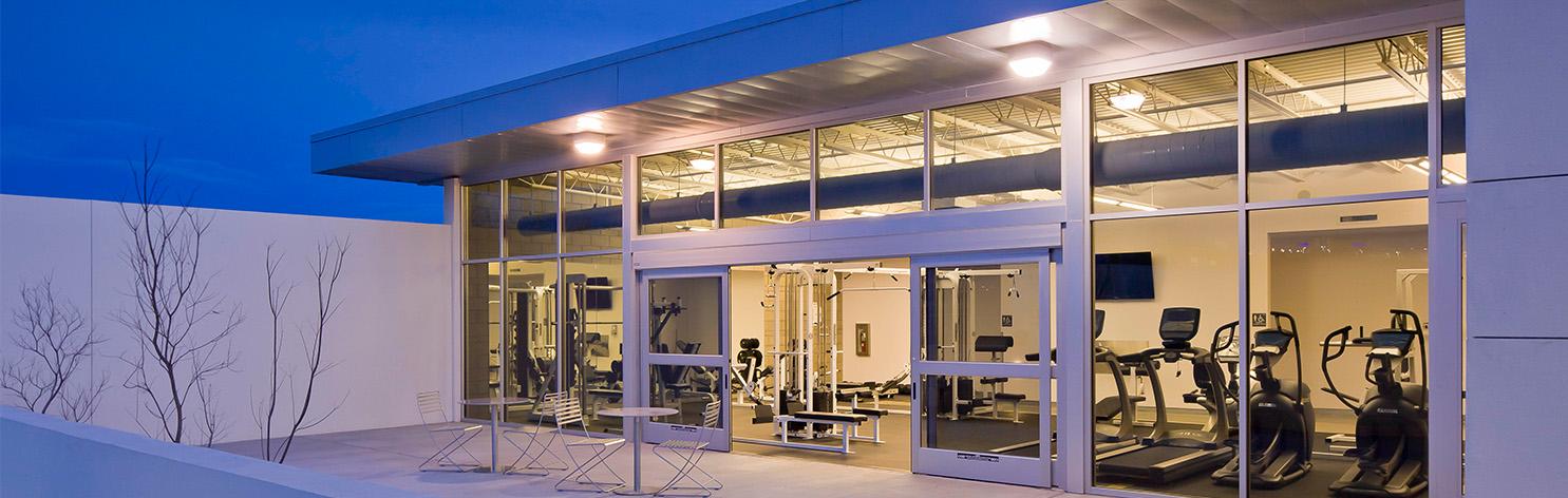 Albuquerque Police Station Gym
