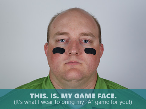 Anthony Block is bringing his game face