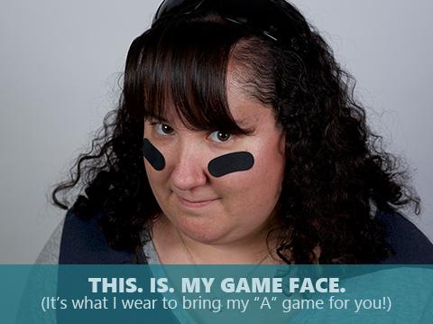 Rachel Dominguez is bringing her game face