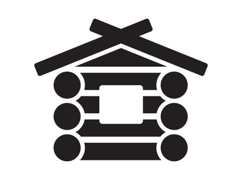 Debbie Eachus log cabin icon