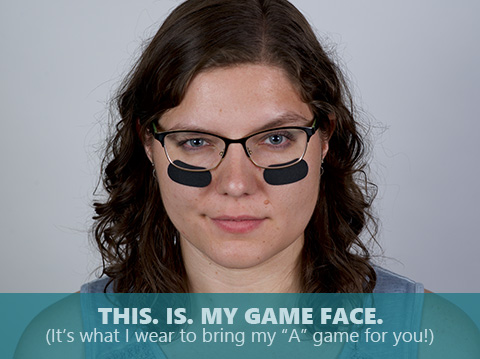 Kristin Hanna is bringing her game face