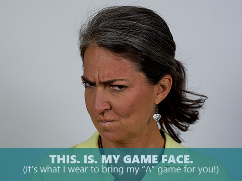 Scotti Hollingsworth is bringing her game face