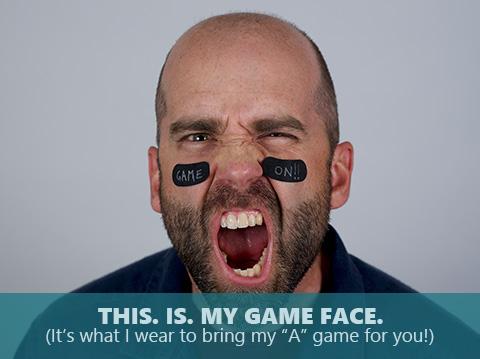 Dan Koelliker is bringing his game face