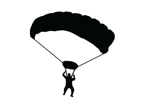 William (Bill) Larson parachute icon
