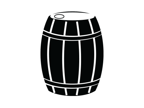 Brian Robertson whiskey barrel icon