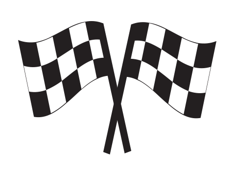 Brent Schumacher racing checkered flags icon