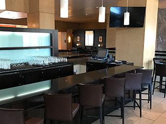 Lobby bar inside of the Westin Denver Downtown