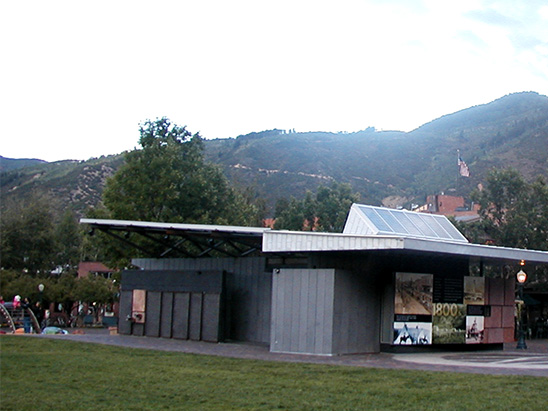 Exterior view of the whole Wagner Park Edge Pavilion where BG provided MEP services